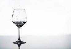 Nasses Glas Lizenzfreies Stockbild