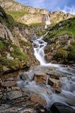 Nassfeld Waterfall (Austria). Nassfeld waterfall along the Grossglockner High Alpine Road (Austria Royalty Free Stock Photos