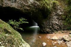 następnie wodospad rock obrazy royalty free