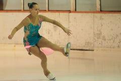 Nastasiya Lobachevskaya - patinaje artístico Fotografía de archivo libre de regalías