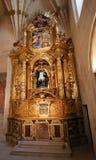 Nastawa kaplica San Juan De Sahagun w Burgos katedrze zdjęcie stock