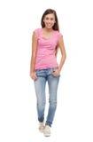 Nastolatek żeńska pozycja Zdjęcia Royalty Free
