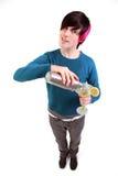 nastolatek koktajlowym. Zdjęcie Stock