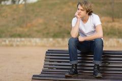 Nastolatek z charakterem w Girona, Hiszpania Zdjęcia Stock