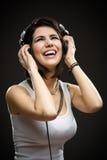 Nastolatek z słuchawkami Zdjęcie Stock