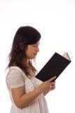 nastolatka azjatykci biel Zdjęcie Stock