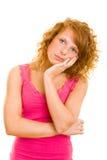 nastolatka główkowanie Zdjęcia Stock