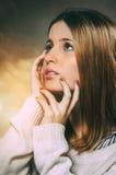 Nastolatka portret Obrazy Royalty Free