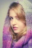 Nastolatka portret Obrazy Stock