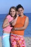 nastolatki telefonów komórkowych Fotografia Stock