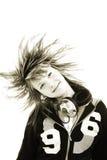 nastolatki włosów Zdjęcia Royalty Free