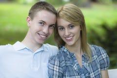 nastolatkowie dwa obrazy royalty free