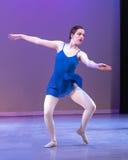 Nastoletni baletniczy tancerz Obrazy Royalty Free