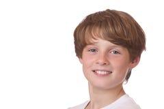Nastoletni chłopak zdjęcie royalty free