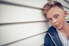 Nastoletni chłopak obrazy royalty free