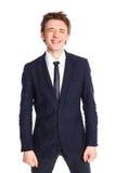 nastoletni chłopiec garnitur Zdjęcia Stock