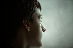 nastoletni chłopiec portret Obrazy Stock