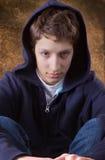 nastoletni chłopiec portret Zdjęcia Stock