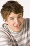 nastoletni chłopiec portret Fotografia Royalty Free