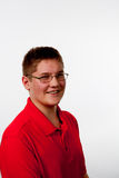 Nastoletni chłopak Fotografia Stock
