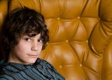 nastoletni chłopiec studio Fotografia Royalty Free