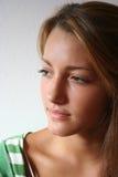nastoletni dziewczyna cień obraz royalty free