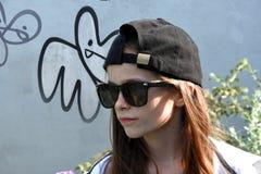 nastoletni dziewczyna okulary przeciwsłoneczne obrazy royalty free
