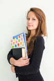 nastoletni dziewczyna piękny uczeń Fotografia Stock