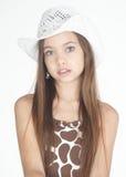 Nastoletni dziewczyna portret Fotografia Royalty Free