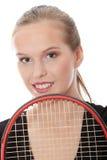 nastoletni gracza tenis zdjęcie royalty free