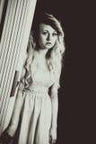 Nastoletni portret poważny nastoletni Zdjęcia Royalty Free