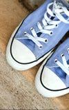 Nastoletni sportowi przypadkowi buty Zdjęcie Stock