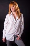 nastoletnia blondynki piękna dziewczyna fotografia royalty free