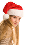 nastoletnia Boże Narodzenie dziewczyna Obraz Stock