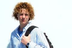 nastoletnia chłopca fotografia stock