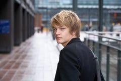 nastoletnia chłopca Obrazy Royalty Free