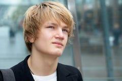 nastoletnia chłopca obraz stock