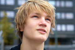 nastoletnia chłopca Zdjęcie Stock