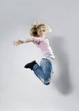 nastoletnia dancingowa breakdance dziewczyna Obrazy Royalty Free