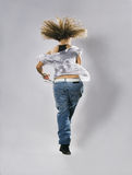 nastoletnia dancingowa breakdance dziewczyna Fotografia Stock