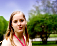nastoletnia dziewczyna Fotografia Stock