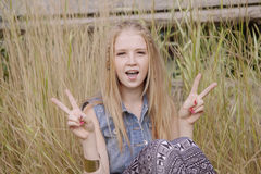 Nastoletnia dziewczyna Obraz Royalty Free