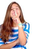 Nastoletnia dziewczyna Zdjęcia Stock