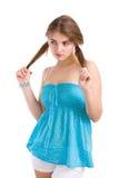 nastoletnia dziewczyna obraz stock