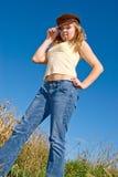 nastoletnia dziewczyna zdjęcie stock