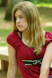 nastoletnia dziewczyna Obrazy Royalty Free