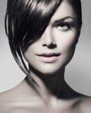 Nastoletnia Dziewczyna z Krótkim włosy zdjęcia royalty free