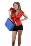 Nastoletnia dziewczyna zakupy Fotografia Royalty Free