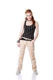 nastoletnia dziewczyny pozycja Zdjęcie Stock