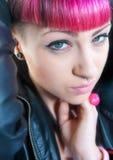 nastoletnia emo dziewczyna Obrazy Royalty Free